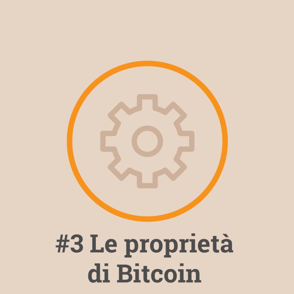 Le Proprietà di bitcoin